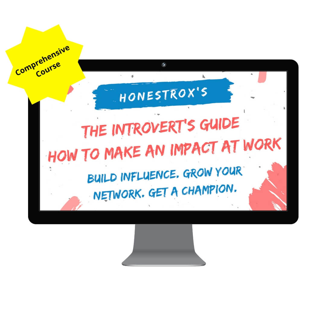The introvert's guide: how to make an impact at work course