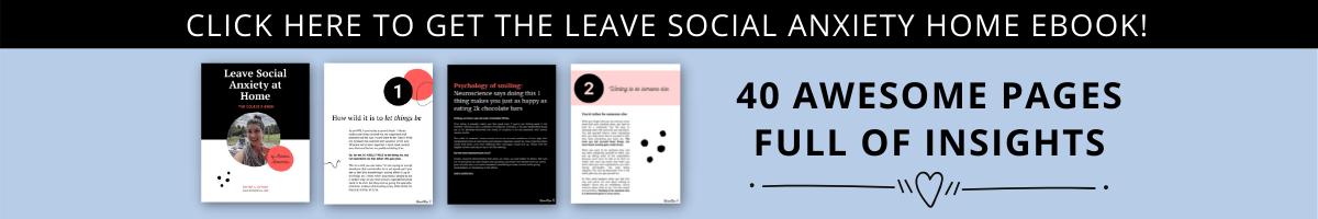 Buy Social Anxiety Ebook