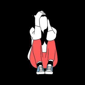 social anxiety girl