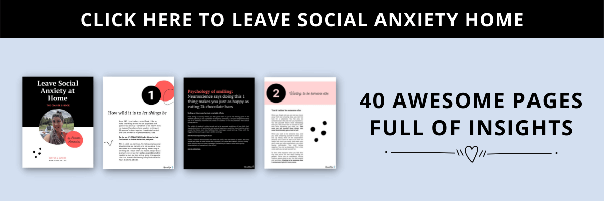 leave social anxiety home ebook