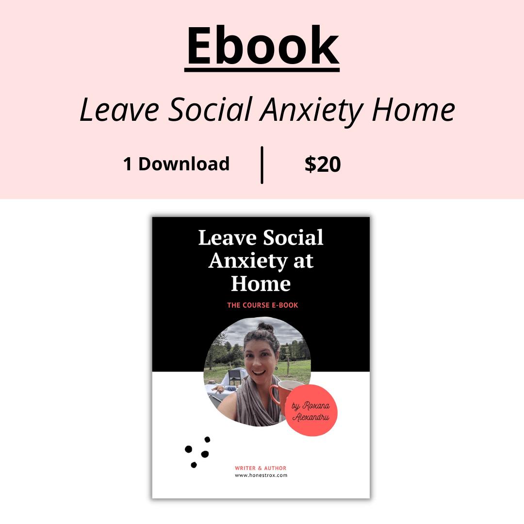 Social Anxiety Ebook Shop