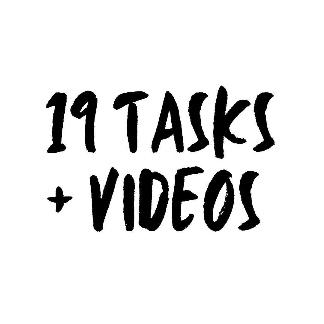 19 tasks